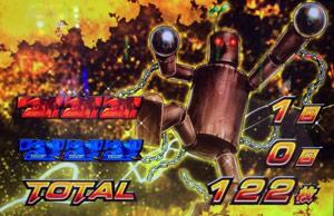 鉄拳3-AT終了画面木人