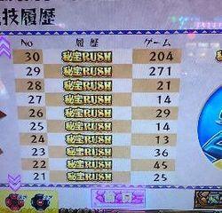 秘宝伝 ラスト 設定6